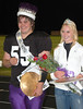 2011 Estes Park High School homecoming king Ben Addison and homecoming queen Carmen Laing were crowned at halftime of the Sept. 16 homecoming contest against Cornerstone Christian.