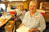 Walt Hester | Trail Gazette<br /> Barb Van Dorn enjoys her last day running the Estes Park blood drive on Monday. Van Dorn has organized the drive in Estes Park for 15 years.