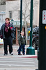 Walt Hester   Trail-Gazette<br /> Eli James, 4, right, of Thornton, helps show Vada Pelton of Phoenix around Estes Park on Tuesday. January is a quiet time in Estes Park, great for wondering around without quite so many people.