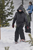 Walt Hester | Trail-Gazette<br /> William Payne, 11, of Berthoud stomps around on demo snowshoes in Rocky Mountain National Park on Saturday. The park hosted the 16th annual snowshoe and outdoor snow demo on Saturday.
