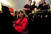 Walt Hester | Trail-Gazette<br /> Isabelle Sakariassen, 5, of Windsor enjoys a little chili from the YMCA of the Rockies at the locals chili cook-off on Saturday. The touring competitive chili cooks came in on Sunday to show what they could do.