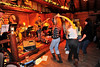 Walt Hester | Trail-Gazette<br /> Celebrants dance at the performance the Really Most Sincerely Dead at the Rock Inn on Friday. The band of local talents, cover the music of the Grateful Dead.