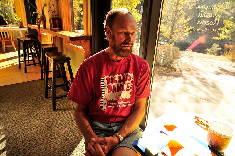 Walt Hester | Trail-Gazette<br /> Greg Steiner takes time to talk on Tuesday.