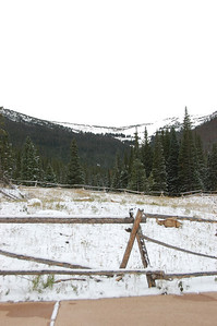 The Oct. 7 snow covered a little of the area at the Hidden Valley snowplay area in Rocky Mountain National Park, just not enough for any actual snowplay.