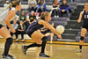 Walt Hester | Trail Gazette<br /> Senior Stephanie Woolman digs up a serve against Highland last week. Woolman had eight digs and two service aces against Lyons on Thursday.