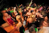 Walt Hester | Trail-Gazette<br /> Students shake and twirle during the Homecoming Dance at the Estes Park High School on Saturday. The dance was the culmination of festivities during the week.