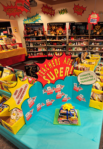 Walt Hester | Trail-Gazette The Estes Park Elementary School's annual Book Fair is underway at the school's library. Children and parents are encouraged to donate books to teachers during the fair.