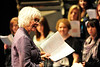 Walt Hester | Trail Gazette<br /> Dr. Dee Gauthier gives the Estes Park singers some direction on Thursday. Dr. Gauthier is the director of Cantus Femina, an all women's choir from the University of Western Michigan.