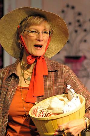 "Walt Hester | Trail Gazette<br /> Kay Mitchell plays ""Weezer"" Boudreaux, a perpetually crabby widow."