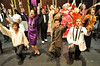 Walt Hester | Trail Gazette<br /> The cast of The Drowsy Chaperone rehurses the opening musical number on Tuesday. The Estes Park High School's fall musical opens Friday at the school's auditorium.