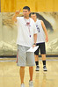 Walt Hester | Trail Gazette<br /> Bobcats' coach Chad Nachtrieb directs drills during the boys' practice on Wednesday. The second-year coach wants to foster and improve teamwork in this year's 'Cats.