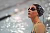 Walt Hester | Trail Gazette<br /> Sophomore swimmer Emma Reins awaits instruction at the girls' swim practice on Tuesday. On top of regular swim season workouts, Reigns attended two swim camps, ran and started Pilates to help her fitness for the swim season.