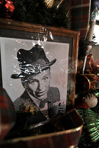 Walt Hester   Trail Gazette A photo of Frank Sinatra sits on a float for the parade. While most of the decorations on the floats are huge, if one looks closely, there are plenty of little details, as well.