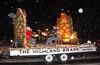 The Highland Brass performed on a float in the 2011 Catch the Glow Parade.