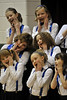 Walt Hester | Trail-Gazette<br /> Members of the Mountain Echoes Choir perform for friends and families at the Estes Park Elementary School on Tuesday. The choir is made up of children from third through fifth grades.