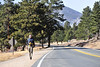 Walt Hester | Trail-Gazette<br /> Vince Gerber rides strong winds down off of Deer Ridge Junction on Wednesday. Gerber said the run up the north side of the junction was much more challenging, into the fierce winds.