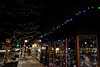 Walt Hester | Trail Gazette<br /> Colored lights adorn a stroefront along Elkhorn Avenue. Businesses in town are encouraged to get into the holiday spirit, as well.