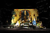Walt Hester | Trail Gazette<br /> The Nativity Scene glows in Bond Park. The Nativity is one of the displays that was rebuilt a few years back.