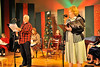 "Walt Hester | Trail Gazette<br /> The radio cast of the Fine Arts Guild's production of ""Miracle on 34th Street"" at the YMCA. The actors dress the parts of 1940s radio actors for the production."