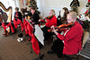 Walt Hester | Trail Gazette<br /> The High Mountain Strings entertain visitors to the Grand Old Christmas at the Stanley Hotel Manor House on Sunday. The event was a fund raiser for the Estes Valley Preservation Foundation.
