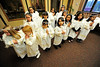 Walt Hester | Trail Gazette<br /> Angels line up for pictures and await the start of the pagent.