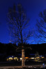 Walt Hester | Trail Gazette<br /> Christmas lights welcome the season, as well as visitors to Estes Park. Christmas lights adorn nearly every tree along Elkhorn Avenue.