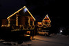 Walt Hester | Trail Gazette<br /> Twin displays adorn homes above Maraine Avenue.