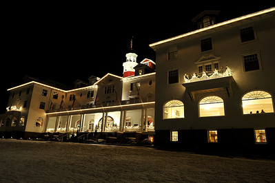 Walt Hester | Trail Gazette The Stanley Hotel wears its holiday best for Estes Park.