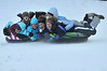 Walt Hester | Trail Gazette<br /> A pile of Moxness cousins, Kelley, Emily, Delayne, Mikaela, Adelle and Melanie, careen down the snowplay slope at Hidden Valley on Wednesday. Four of the six cousins grew up in southeast Asia and had never been sledding before.