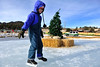 Walt Hester | Trail Gazette<br /> Daxx Benet, 7, of Austin, Texas glides around the rink at Trout Haven on Wednesday. Visitors and residents have plenty of choices for skating around Estes Park this year.