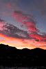 Walt Hester | Trail Gazette<br /> Clouds over Estes Park catch morning rays for a colorful start to Wednesday. Some clouds are expected, but sunshine should be abundant.
