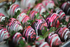 Walt Hester | Trail Gazette<br /> Chocolate covered strawberries awai passers-by along ELkhorn Avenue on Monday. As much as cards, chocolate is a big part of the holiday.
