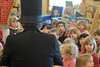 Walt Hester | Trail Gazette<br /> David Tavel of Estes Park portrais Abraham Lincoln for the children at the Lifelong Learning of Estes Vally pre-school on Friday. Tavel described the life of the 16th president as part of Presidents' Day.