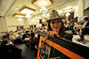 Walt Hester | Trail Gazette<br /> Kellsie Purdy circulates with a live auction item on Saturday. This is only the beginning of a year of travel and speaches as Miss Rodeo Colorado begins her reign.