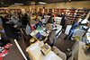Walt Hester | Trail Gazette<br /> Crowds rummage throug the remining invintory at Star Video on Friday. The store fell victim of digital streaming and rental boxes, much like larger video rental chains.