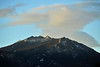 Walt Hester | Trail Gazette<br /> Clouds slowly creep over Twin Sisters on Wednesday morning. Clouds and snow are expected to return to Estes Park on Friday and again begining Sunday night.