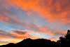 Walt Hester | Trail Gazette<br /> Orange and blue skys greet early risers in Estes Park on Monday.