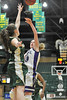 Walt Hester | Trail Gazette<br /> Kimmy Hansen fires up two of her 24 total points against Machebeuf on Saturday. Hansen had 86 points for the tournament and over 250 points in only 14 games.
