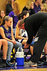 Walt Hester | Trail Gazette<br /> Curt Weibel works on Chelsea Weitzel during the girls' State Playoff run in March. Weibel received the Lloyd Gaskill award from the Colorado High School Coaches Association for his support of Estes Park high school athletes and teams.