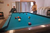 Photo by Walt Hester<br /> Friends play pool at the Senior Center of Estes Park on Tuesday.