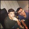 "Feb 14 adambaptiste's deleted instagram ""in the studio with @alipayami and @adamlambert work no sleep! """