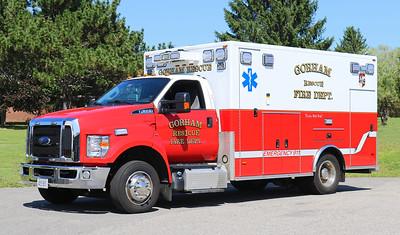 Rescue 1.  2017 Ford F-650 / PL Custom
