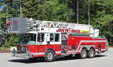 Truck 1 1997 Ferrara 1500 / 300 75' Tower