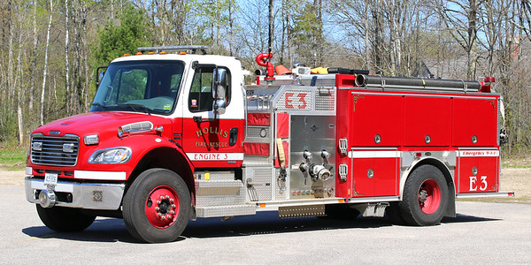 Engine 3.  2006 Freightliner / E-One.  1250 / 1250