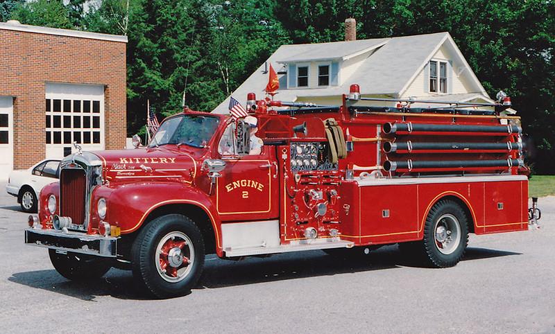 Retired  Engine 2 1965 Mack B 1000 / 750