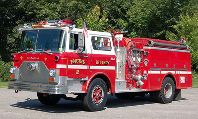 Retired  Engine 2   1983 Mack CF   1250/750