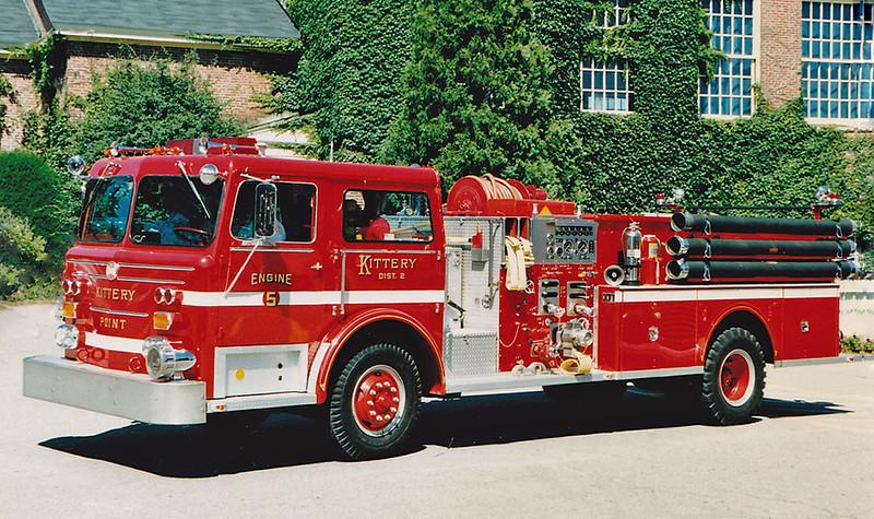 Retired  Engine 5 1975 Maxim 1500 / 500