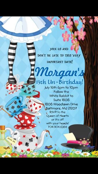 Morgan's 13th Un- Birthday Party @ Suite 1808 7.16.16