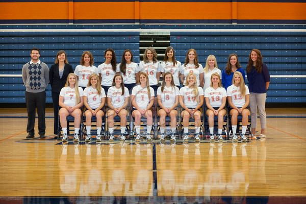 Wheaton College 2014 Volleyball Team