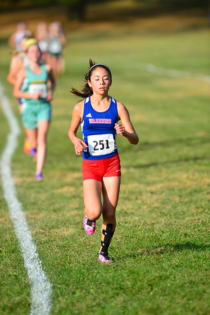 Girls Cross Country Stater Qualifier Meet 10/30/15